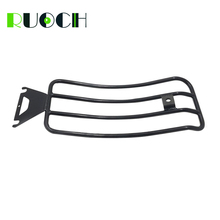 цена на For Harley Touring Solo Seat Luggage Rack Shelf Support Accessories Electra Road Street Glide 1997-2015