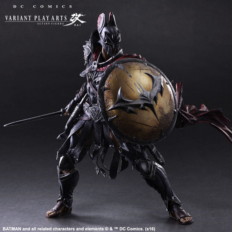 Batman Play Arts Kai 1/6 scale painted figure Variant variable Ver. Timeless Spartan PVC Action Figures Collectible Model Toys super street fighter iv akuma gouki white variant play arts kai action figure