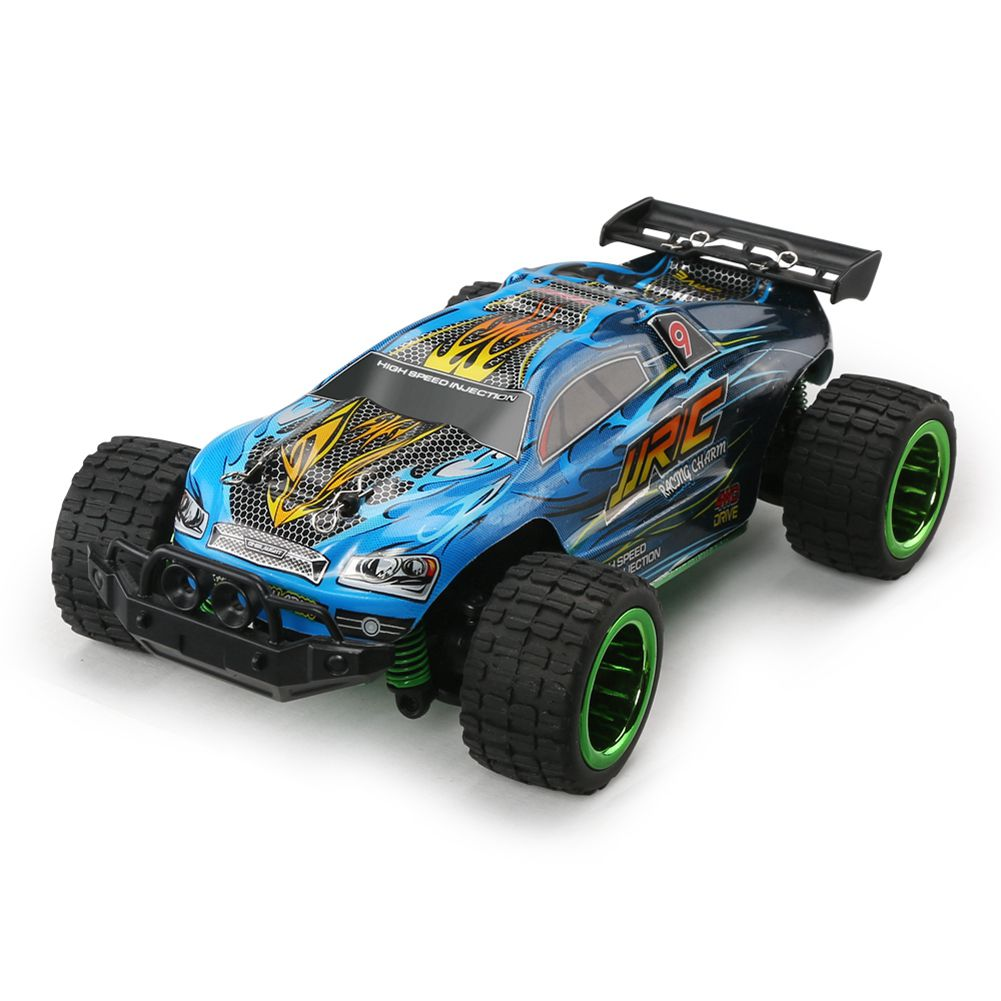 JJRC Q36 RC Car 4CH 4WD 30KM/H Driving Car 1: 26 Remote Control Model Off-Road Vehicle Toy For Children(Blue) jjrc q36 rc car 4ch 4wd 30km h driving car 1 26 remote control model off road vehicle toy for children blue