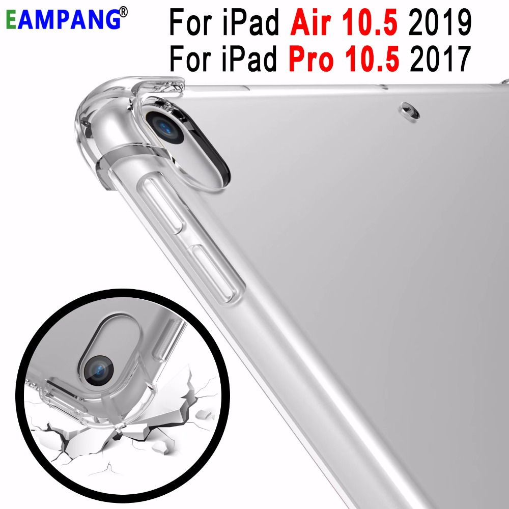 Drop Resistance Transparent Soft Silicon Clear TPU Cover Case For Apple IPad Pro 10.5 2017 IPad Air 3 10.5 2019 Case Coque Funda