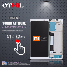 OTMIL 100% Original Xiaomi Redmi Note 5 LCD Display Screen with Frame Touch Digitizer for #1