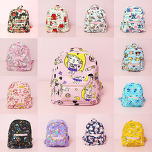 Hello Kitty My Melody Cinnamoroll Little Twin Stars Mickey Sailor Moon Stitch Backpack Children Cartoon School Bag Kids Backpack sheepet sp120452 my melody hello kitty