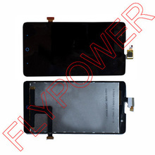 Lcd screen display+Touch screen digitizer For ZTE V5 U9180 /V9180/N9180 black by free shipping