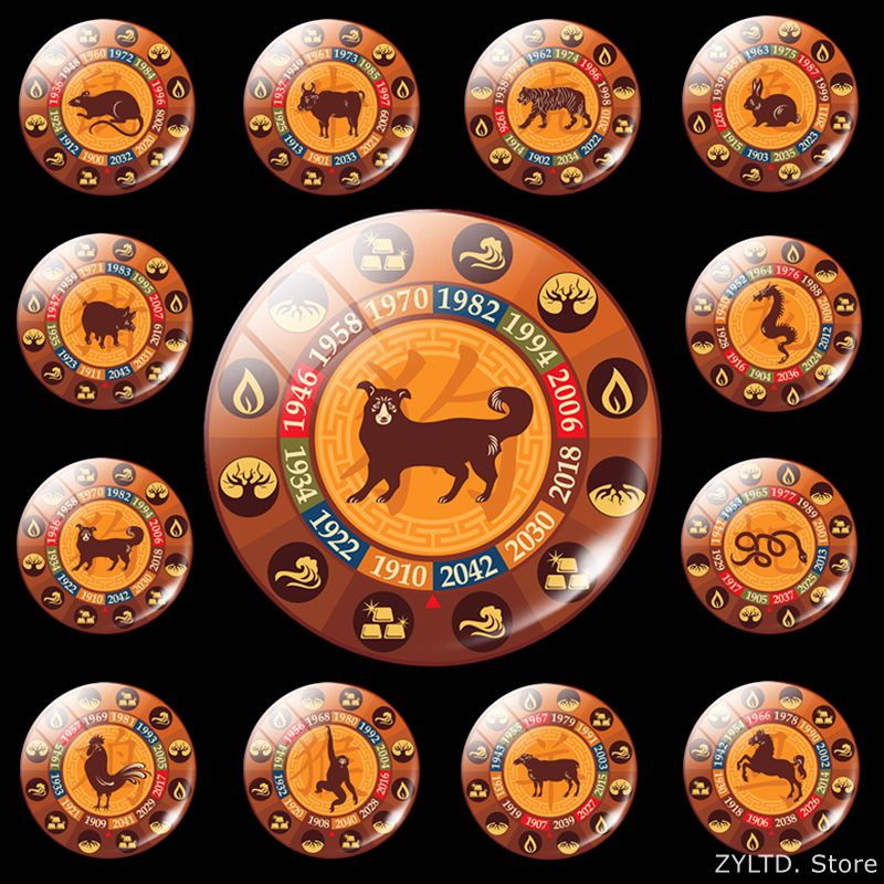 Friendly Liusventina Diy Acrylic Cute Chinese Zodiac Dog Tiger Monkey Cattle Contact Lens Case With Mirror Box Container For Color Lenses Apparel Accessories Eyewear Accessories