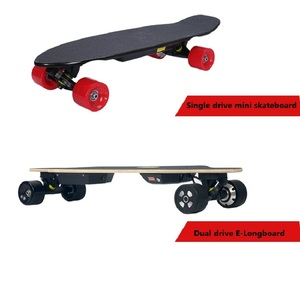 Image 5 - 1PC 70mm 83mm 90mm Electric Skateboard Hub Motor With Black or Red PU Cover for Single Drive or Dual Drive Electrical longboard