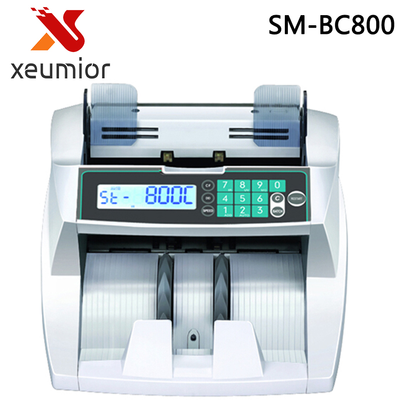 Front Loading Bill Counter with UV/MG/IR/DD Detection Money Counting Machine Suitable for Multi-Currency Cash Counter ocbc 2108 low price bill counter with uv and mg function