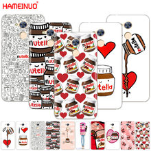 chocolate Food Tumblr Nutella Cover phone Case for Huawei Honor 10 V10 4A 5A 6A 7A 6C 6X 7X 8 9 LITE(China)