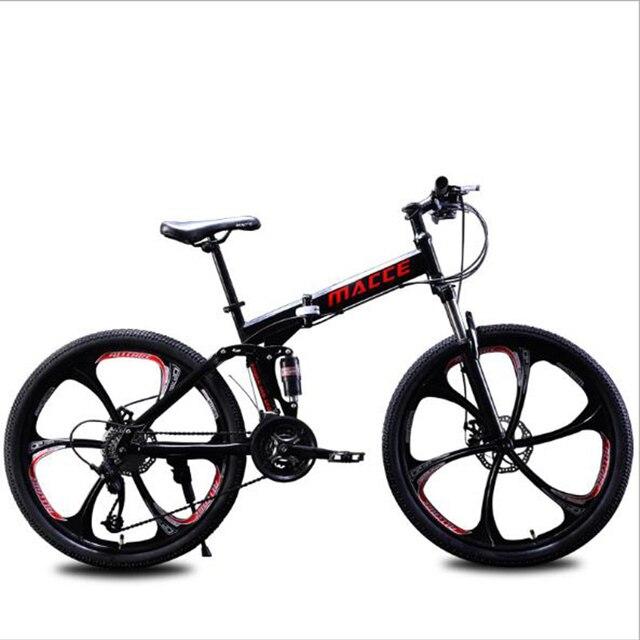 Bicicletta Non-Pieghevole Mountain Bike 26 Pollici Freno A Doppio Disco In Lega di Alluminio Materiale Adatto per Gli Uomini