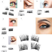 Hot Big Combination Sales NEW Ultra Thin 0 2mm And 0 4mm Magnetic Eye Lashes 3D