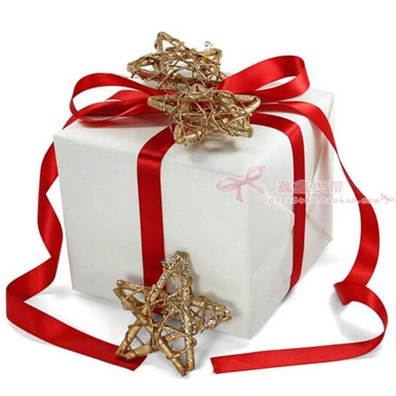 Wedding Pretty Satin Ribbon Silver//Gold Silk Card Decor Gift Wrapping