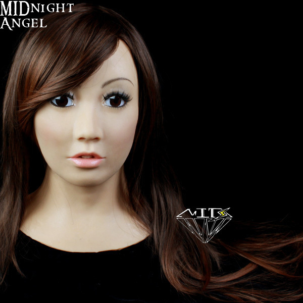 Sf 1 Midnight Angel Female Full Head Mask Makeup Trandgender