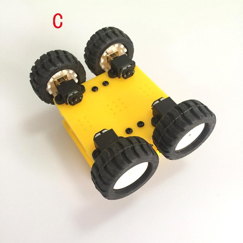 N20 Smart Car/N20 Gearmot Car Chassis/Robot DIY Model Mini Frame ...