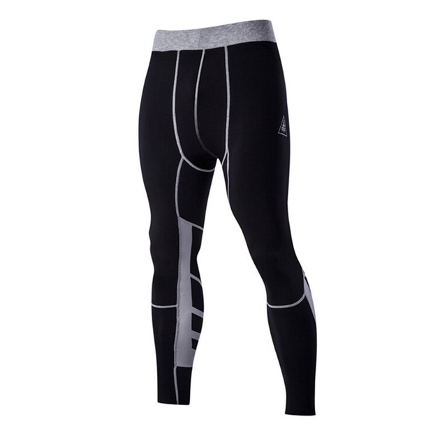 MMA & Crossfit Men's Workout Fitness Compression Leggings