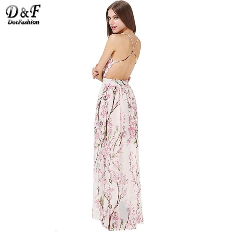 Dotfashion Boho Dress 2016 Summer Fashion Womens