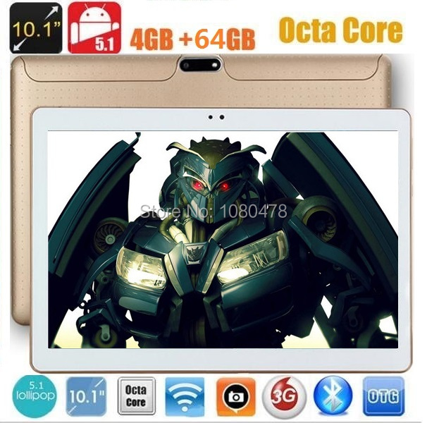 2017 Newest 10 inch tablet pc Android 5 1 Octa Core 4G RAM 64GB ROM 1280