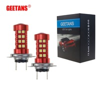 2pcs H7 H4 LED Fog Light Bulbs 9005 H11 H8 H9 H16 1156 1157 Car Daytime
