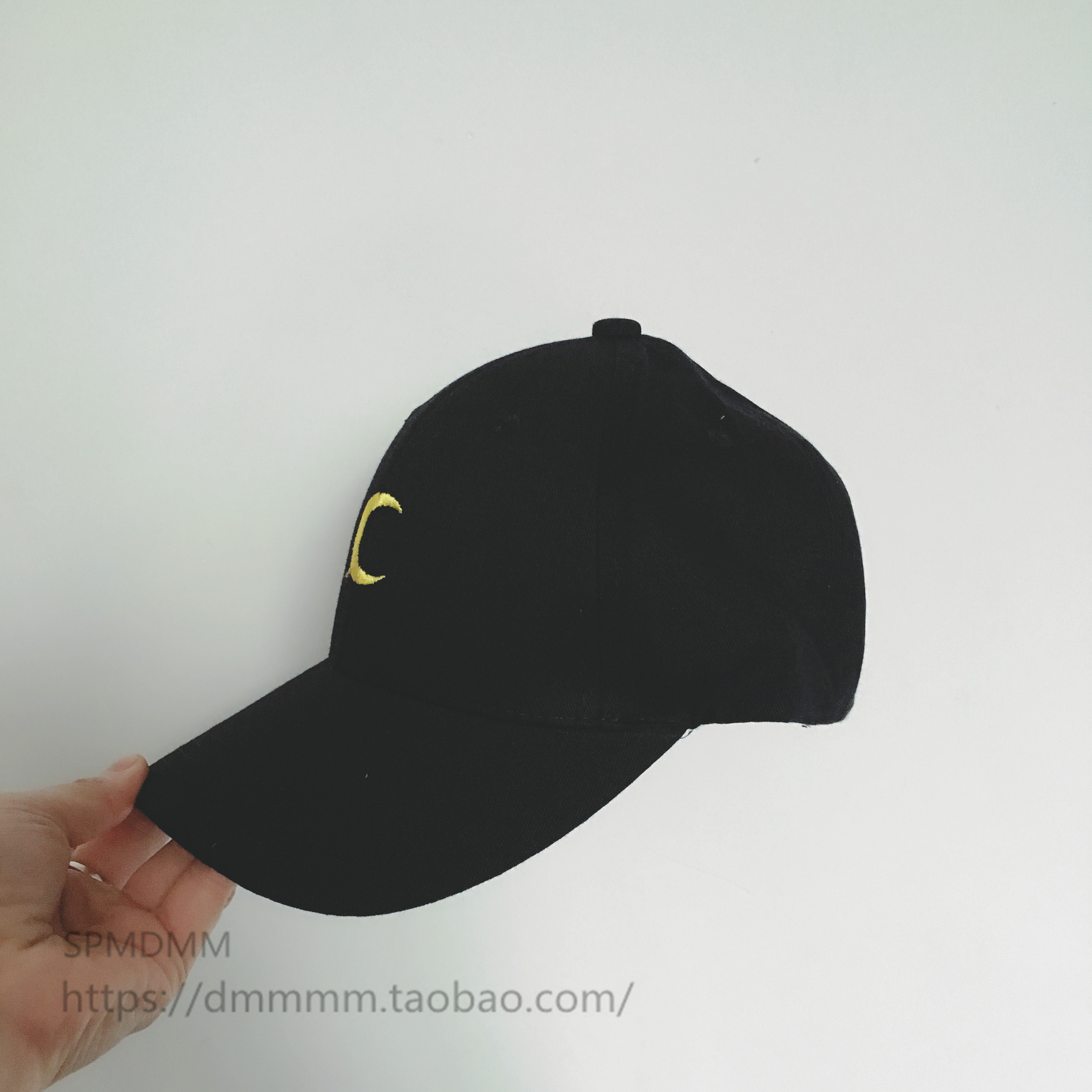 South Korea embroidery moon movement eaves white baseball cap Casquette black leisure cap Sports Hats men women lovers tide 2016 new new embroidered hold onto your friends casquette polos baseball cap strapback black white pink for men women cap