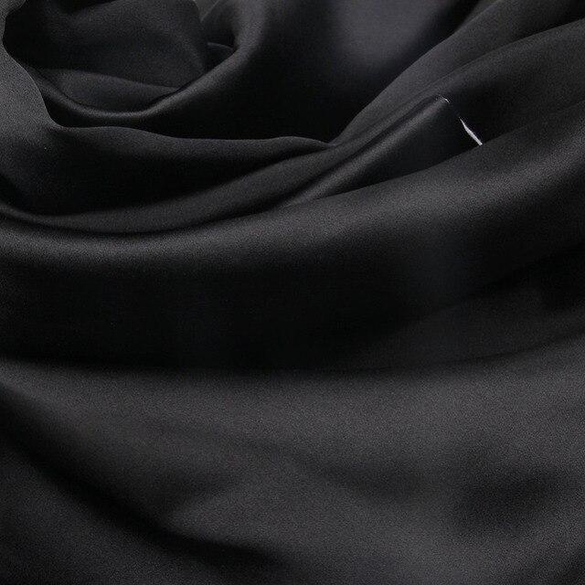 1 Pair 100% Mulberry Silk Pillowcase with Hidden Zipper Nature Pillow Case for Healthy Standard Queen King Free Shipping 2