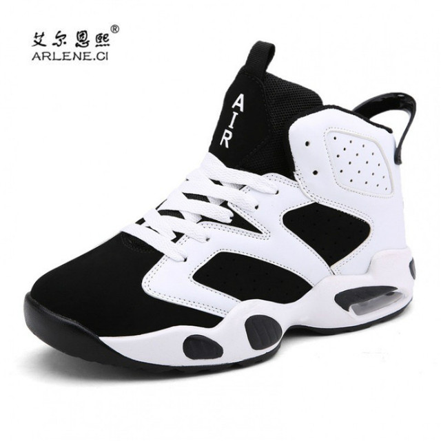 db800848007cc 2019 New Arrival Men Basketball Shoes Outdoor Comfortable Air Cushion Sport  Shoes Male Trainers Basket Femme Chaussures Homme