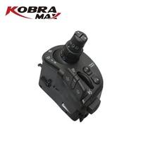 KobraMax Car Accessories Radio & Wipers Steering Column Combination Switch for RENAULT CLIO III MODUS KANGOO OEM 8201590631