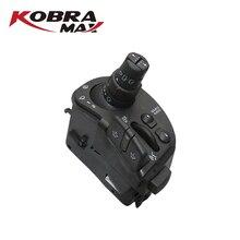 Kobramax 라디오 및 와이퍼 스티어링 칼럼 조합 스위치 8201590631 renault clio iii modus kangoo 자동차 액세서리에 적합