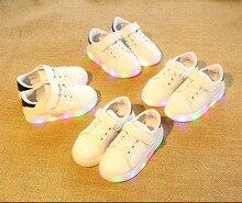 Nova marca hot sales legal crianças sapatos da moda de alta qualidade de iluminação colorida crianças bonitos do bebê meninas meninos sapatos casuais das sapatilhas