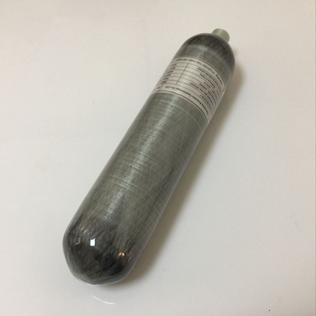 China suppliers 2l 30Mpa 4500psi gas cylinder bottle for pcp rifle carbon fiber fully wrapped air cylinder thread M18*1.5