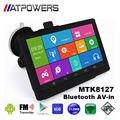 Android navegación gps del coche navegador gps de la tableta de 7 pulgadas wifi GPS Navigator WIFI AVIN bluetooth Cámara HD 800x480 512 M/8 GB