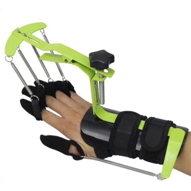Novo!!! relógio de pulso, dedo dinâmico órtese acidente vascular cerebral hemiplegia reabilitação trainer exercícios de dedo dedo aparelho de controle de movimento