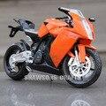 1:12 DIECAST METAL MODEL TOYS KTM RC8 MOTORCYCLE SPORT BIKE REPLICA