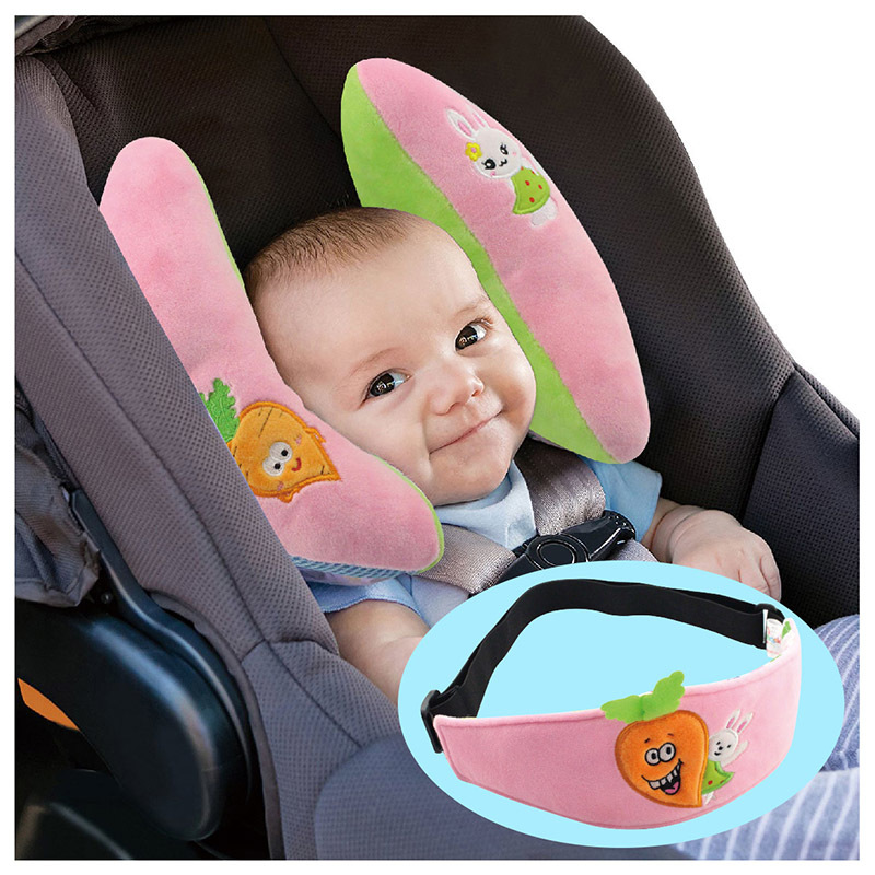1Pcs Baby Child Head Support Sleep Pillow Car Seat Baby Head Protection Car Safety Seat Holder Child Neck Pillow With Eye Patch