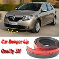 Bumper Lips For Renault Symbol / Thalia / Citius Front Lip Deflector Lips Skirt / Body Kit Strip / Body Chassis Side Protection