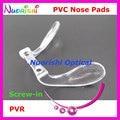 Pvr nova ponte conjunta PVC plástico óculos óculos óculos Push in parafuso em almofadas nariz acessórios frete grátis