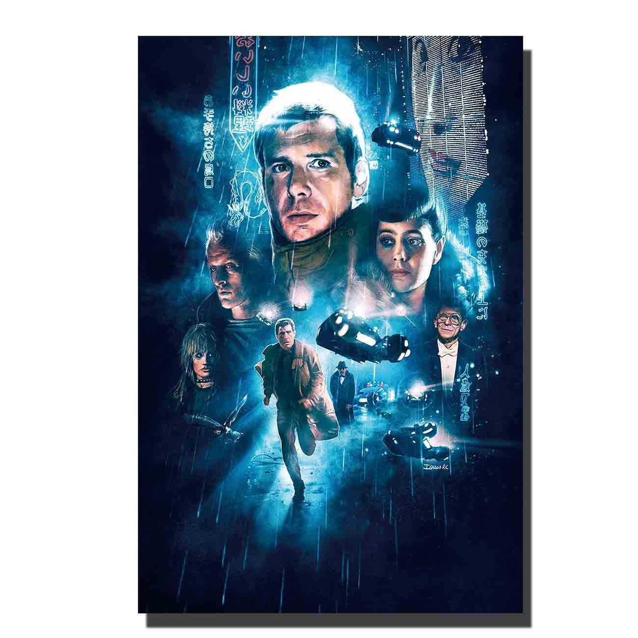 Hot New Blade Runner 2049 2017 Movie Ryan Gosling Silk Canvas Poster 13x20 24x36