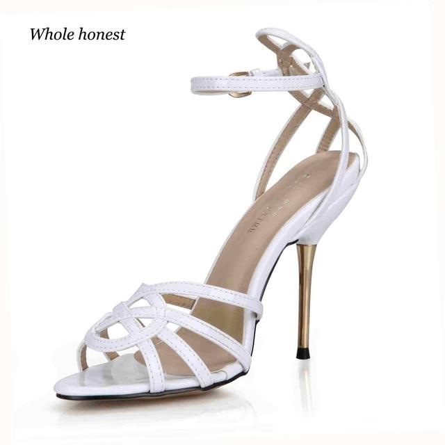 7f7a3f2dd 2018 Hot Venda Nova Pu Moda Festa Ladies Open Sapatos Sandalias Mujer  Melissa Open-toed