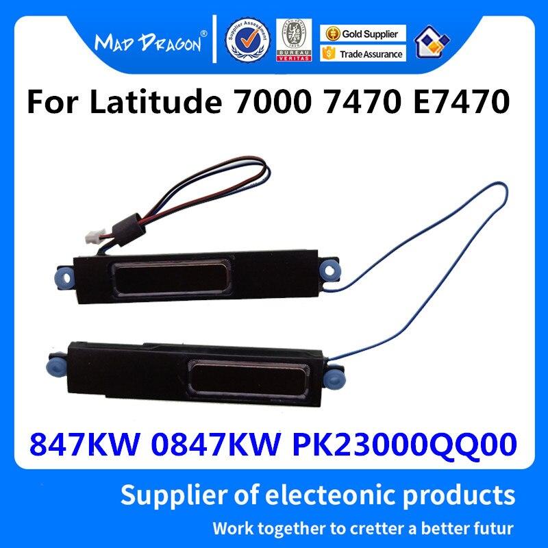 MAD DRAGON Brand Laptop New Original Speaker Set-R + L Left Right For Dell Latitude 7000 7470 E7470 847KW 0847KW PK23000QQ00