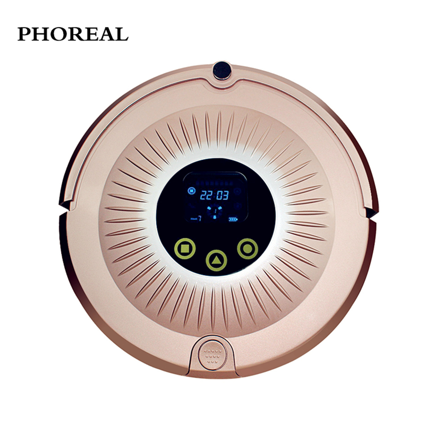 Robot vacuum cleaner PHOREAL FR-sunflower Automatic recharge Robot vacuum cleaner home Smart Plan type Robot vacuum cleaner