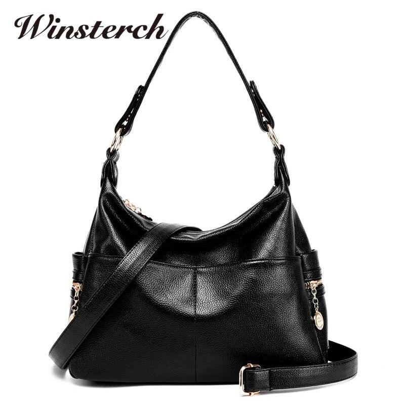 2017 Casual PU Leather Women Solid Handbag Brand Designer Ladies Shoulder Clutch Female Messenger Bag Tote Bolso Mujer Moda S052