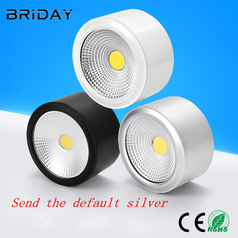 Surface Mounted Downlight 6W 10W 14W 20W Dimmable cob downlight AC110/220V led ceiling light spot light with DriverSurface Mounted Downlight 6W 10W 14W 20W Dimmable cob downlight AC110/220V led ceiling light spot light with Driver
