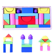 Montessori Toys Educational Wooden Toys for Children Early Learning Kids Intelligence Geometric Shapes Cognition Castle Puzzles baby toys montessori wooden toys educational blocks baby early learning teaching set math toy shapes cognition birthday gift