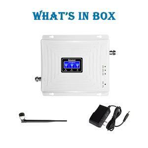 Image 5 - Lintratek 2G 3G 4G Tri Band Cellular Signal Repeater GSM 900 1800 2100 DCS WCDMA Signal Booster Cellphone Amplifier GSM 3G 4G @5