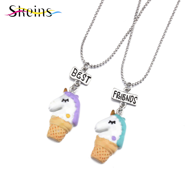 Skeins 2pcs acrylic charms animal horse necklaces pendants for kids skeins 2pcs acrylic charms animal horse necklaces pendants for kids women girl best friends long bff mozeypictures Choice Image