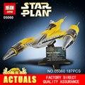 LEPIN 05060 187 Pcs Star Wars UCS naboo estrela tipo de aviões de lutador Kit Modelo de Construção Blocos Tijolos Compatível 10026 Brinquedos