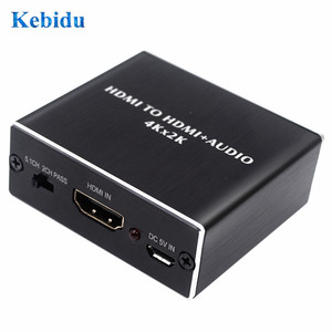 Image 4 - KEBIDU HDMI Audio Extractor AY78 HDMI to HDMI Optical TOSLINK SPDIF+3.5mm Stereo Extractor Converter HDMI Audio Splitter Adapter