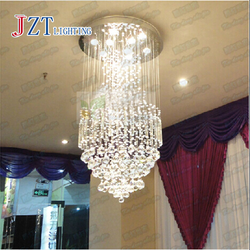 Z best price 2016 new design 100% guaranteed contemporary crystal ceiling chandelier, modern living room light Dia50*H100cm free shipping best selling living room led ceiling light 200mm dia led chandelier