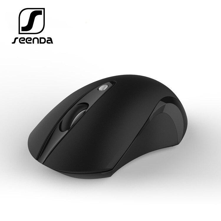 SeenDa Mouse Sem Fio 2.4G Slient Botão Mouses Ópticos para Laptop Silencioso Do Mouse Vertical para o Computador PC