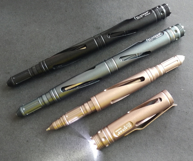 LAIX Tactical Pen Self Defense Weapons Firearms Auto Defense Glass     LAIX Tactical Pen Self Defense Weapons Firearms Auto Defense Glass Breaker  Ballpoint Pens with LED light