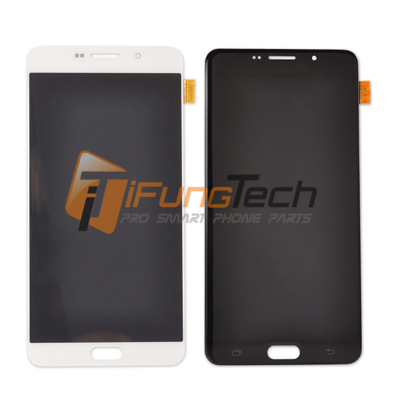 3 PCS LCD Display Touch Screen Digitizer Assembly Replacement Parts For Samsung Galaxy A9 A9000 With Logo , Free Shipping