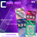 12Pcs/Lot Quality 12 Pcs/pack Condoms thick Large contex condoms for man getting some condoms elasun preservativo two style