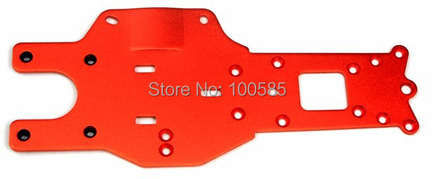 Rear Chassis Plate titanium For 1/5 scale hpi km Baja 5B 5t 5sc Parts-65002